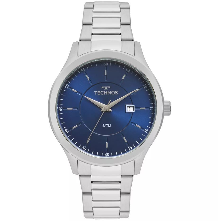 Relógio Technos Steel Masculino 2115MPR/1A