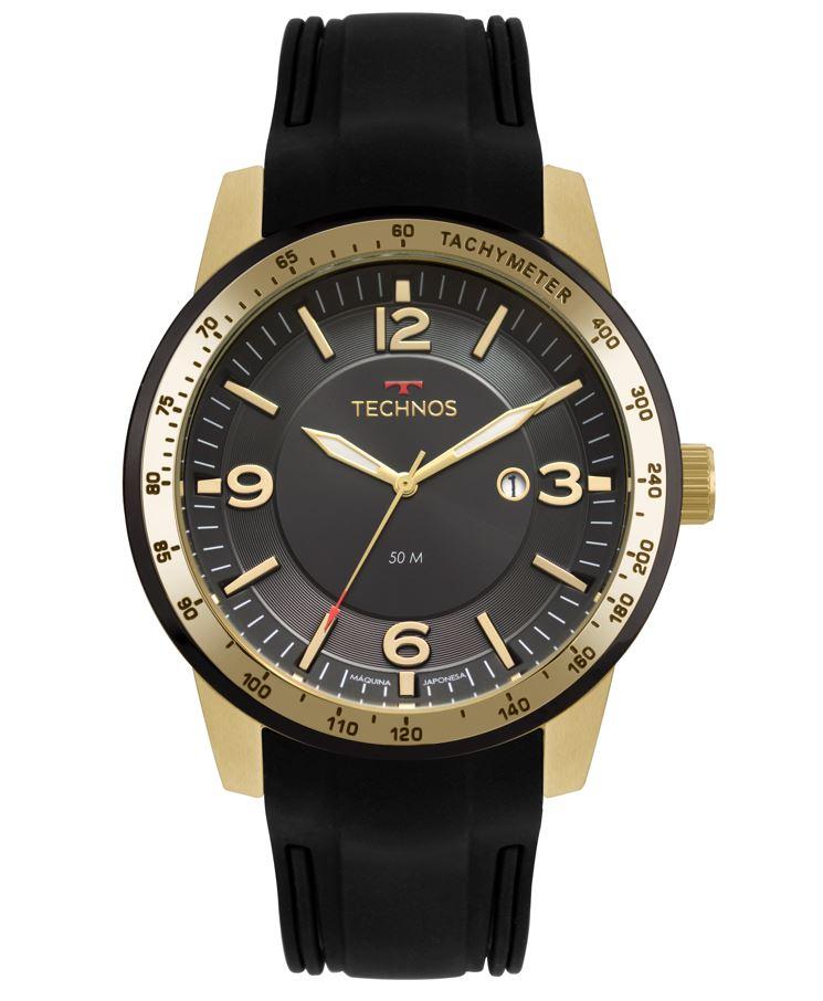 Relógio Technos Steel Masculino 2117LBB/8P