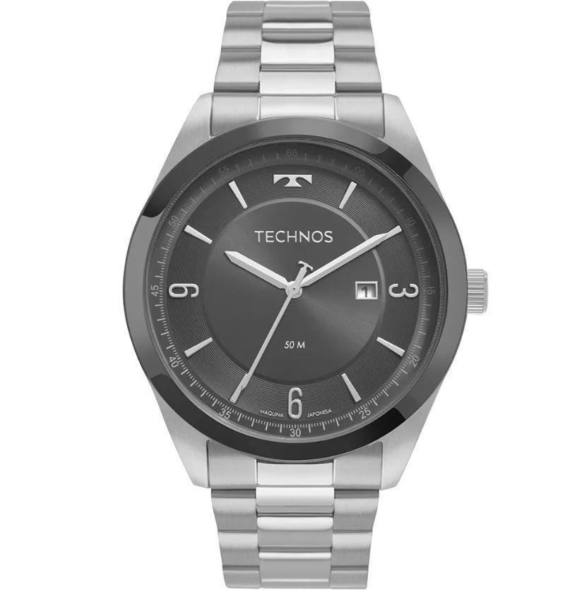 Relógio Technos Steel Masculino 2117LBQ/1C