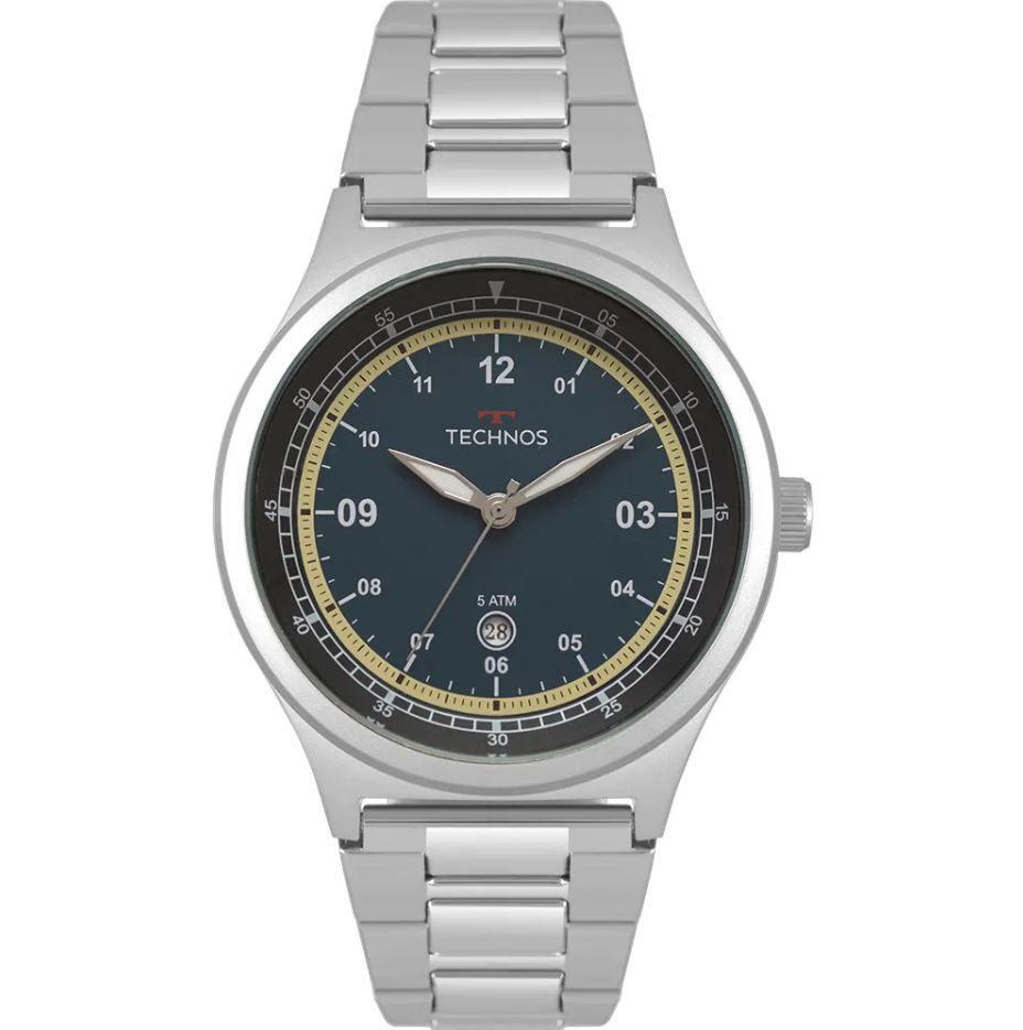 Relógio Technos Steel Militar Masculino 2115MQX/1A