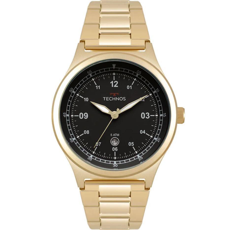 Relógio Technos Steel Militar Masculino 2115MQY/4P