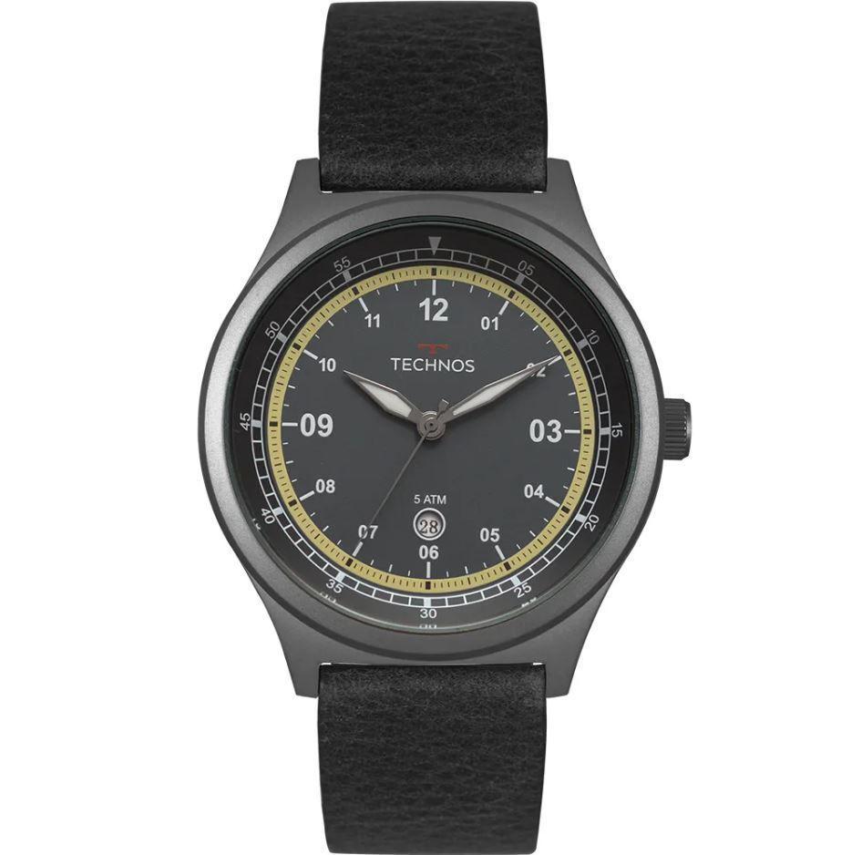 Relógio Technos Steel Militar Masculino 2115MQZ/2A
