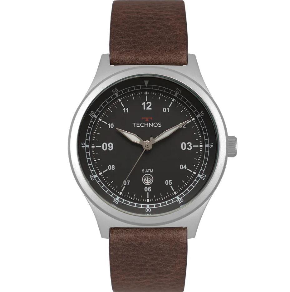 Relógio Technos Steel Militar Masculino 2115MRA/0P
