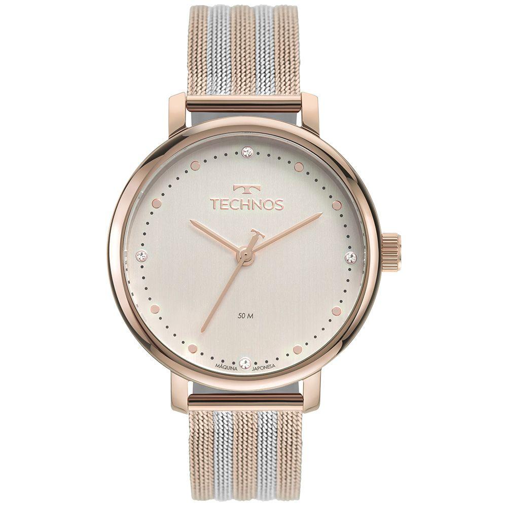 Relógio Technos Style Rose Feminino 2035MSV/1T