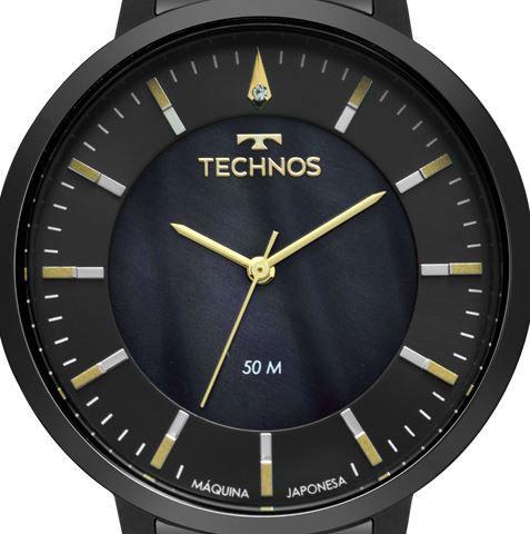 Relógio Technos Trend Preto Feminino 2033CS/4P