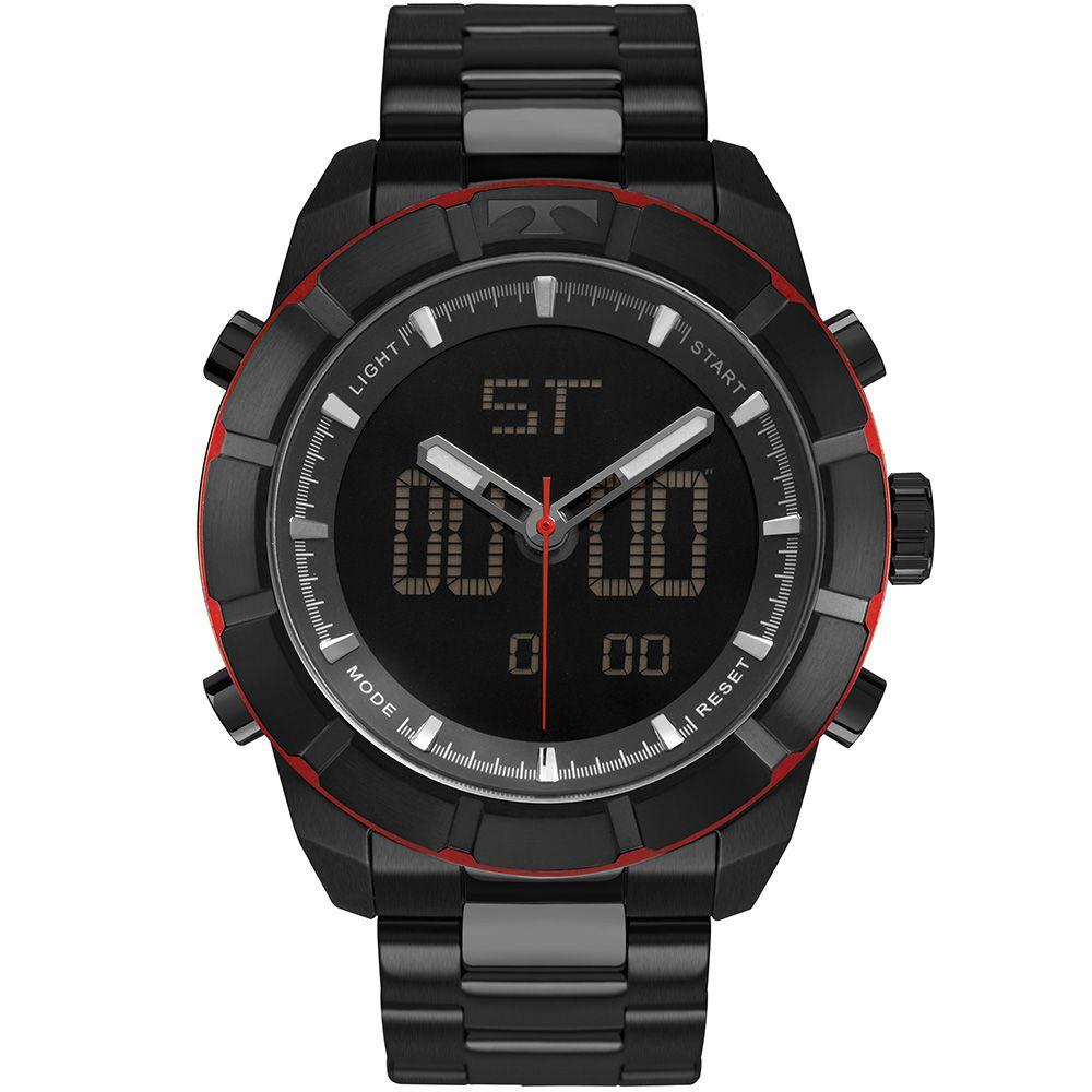 Relógio Technos TS Preto Masculino BJ3340AA/4P