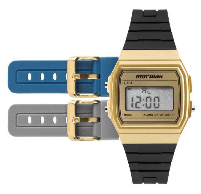 Relógio Troca Pulseiras Mormaii Vintage MOJH02AF/8D