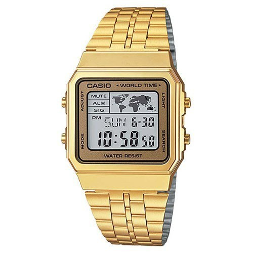 Relógio Casio Vintage World Time Unissex A500WGA-9DF