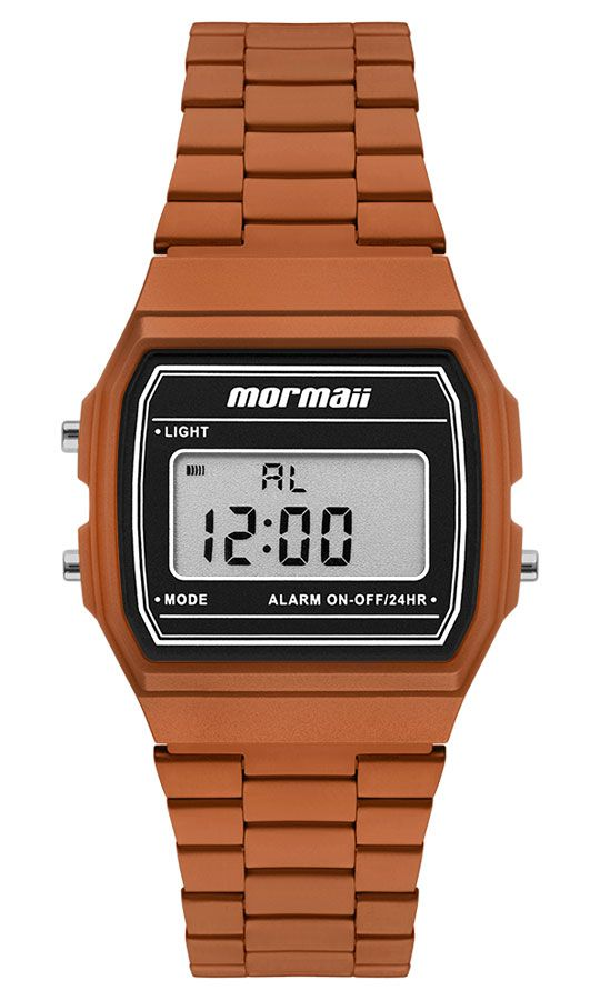 Relógio Mormaii Vintage Laranja MOJH02BL/4L