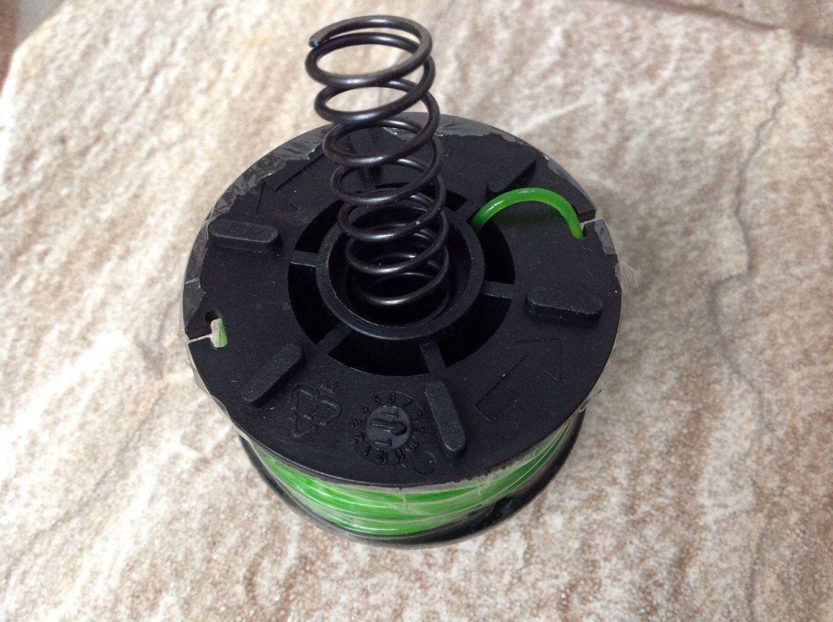 Carretel 1 Fio De Nylon 1,8 Mm 8 M De Comprimento Para Aparador De Grama Tramontina Ref: 78799/497 / mola a parte