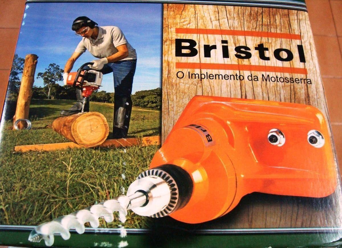 Furadeira Para Acoplar Motoserra Sthil-BRISTOL 361 362