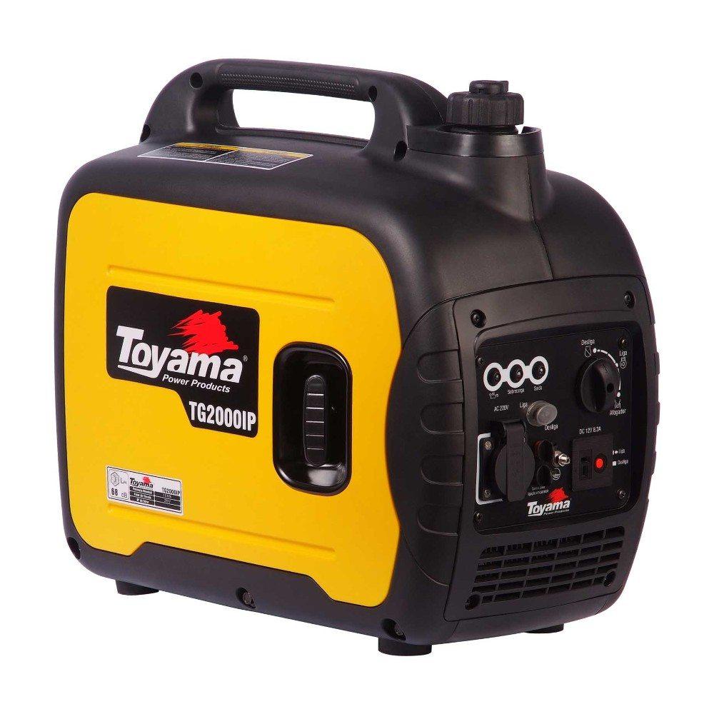 Gerador De Energia A Gasolina 79cc 4t Monofásico Tg2000ip-110v Toyama