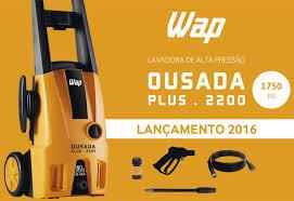 Lavadora de Alta Pressão Wap Ousada Plus 2200 1750Lbs 1500W