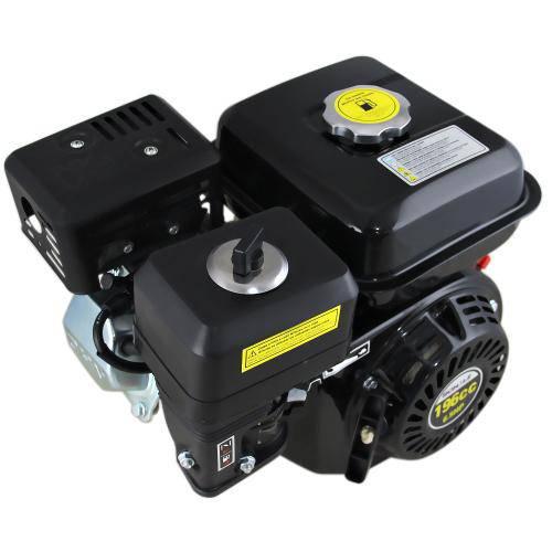 Motor A Gasolina 4 Tempos 196cc 6.5hp Schulz-Mgs6.5