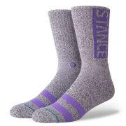 Meia Og Heather Grey - Stance