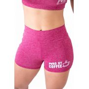 Shorts Empina Bumbum Rosa  - Pwrd By Coffee