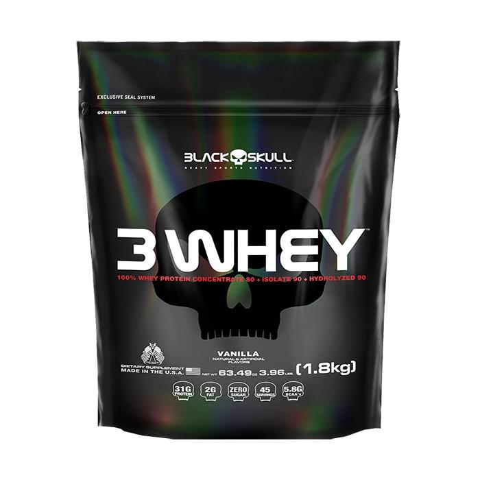 3 Whey Refil 1,8kg - Black Skull