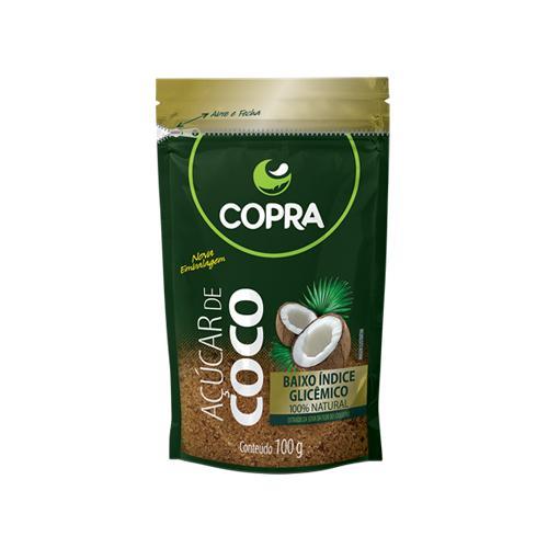 Açúcar de Côco Copra 100g - Clube do Fit