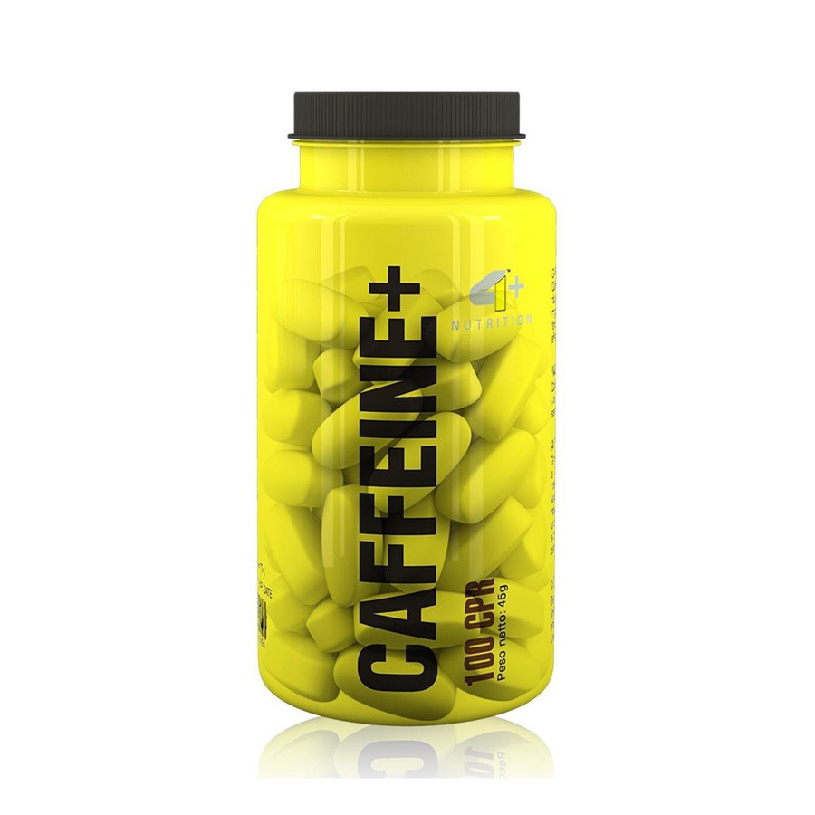 Caffeine + 100 cápsulas - 4 Plus Nutrition