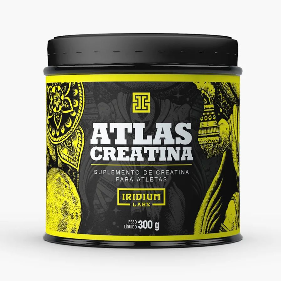 Creatina Atlas 300g - Iridium Labs