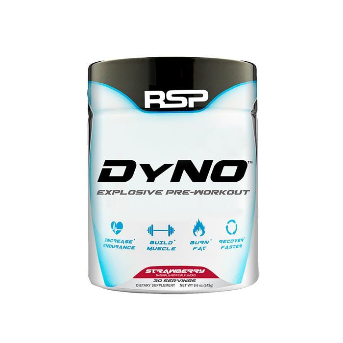 DYNO Pre Treino 60 doses 192g - RSP Nutrition