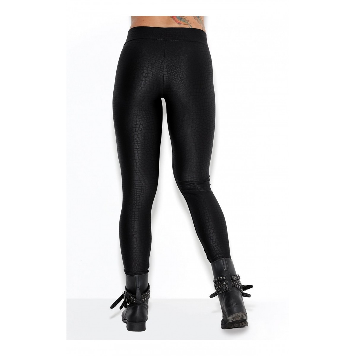 Legging croco black - Rock Code