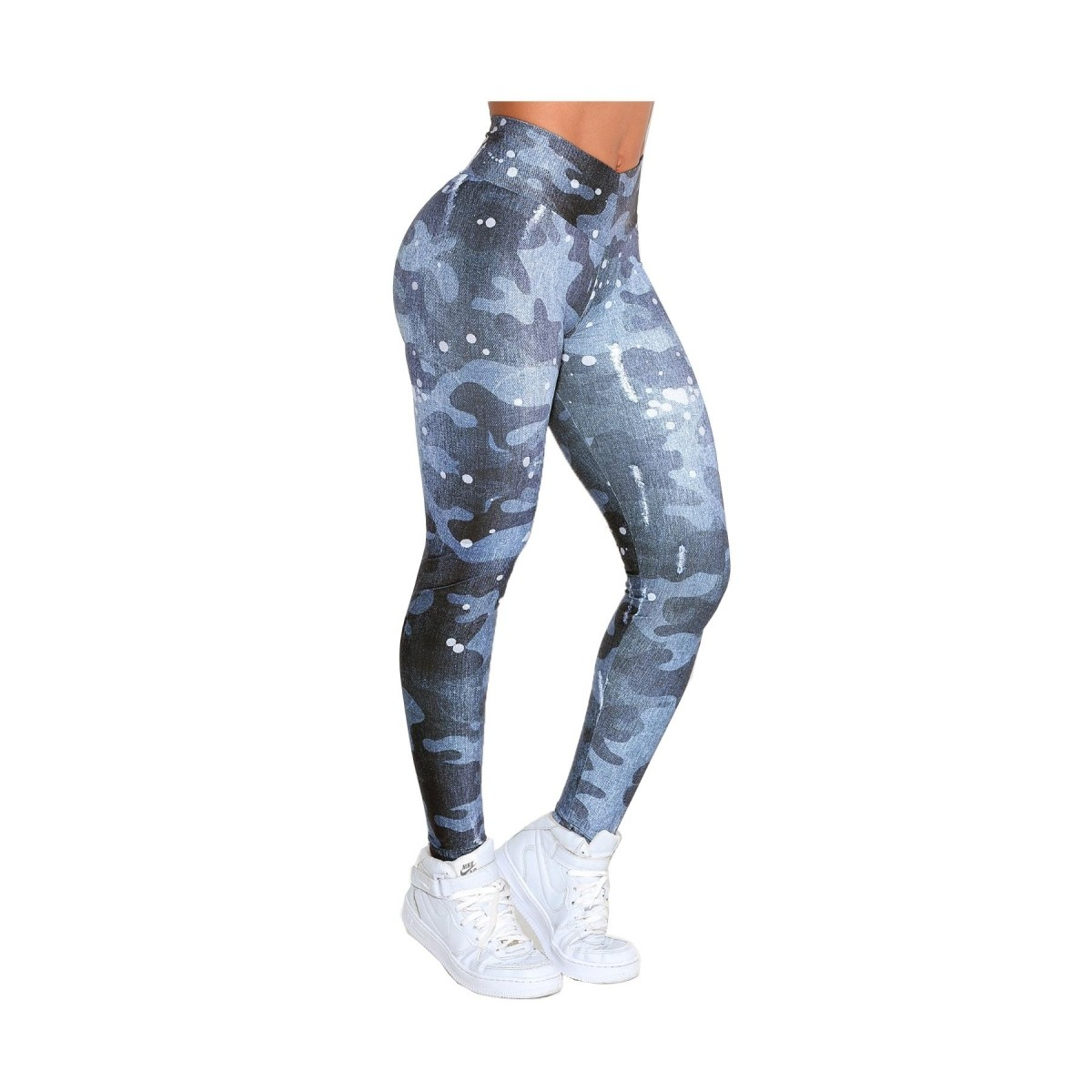 Legging Fitness Army Jeans - Rock Code