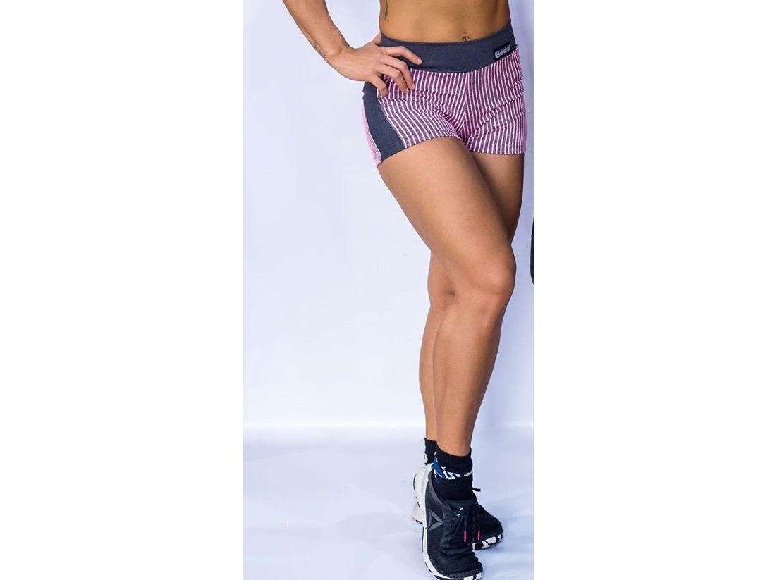 Shorts Cross Rosa - Triple Under