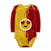 Body Baby Emoticons Apaixonado ML
