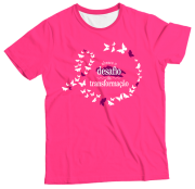 Camiseta Adulto Abrace Pink MC