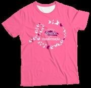 Camiseta Adulto Abrace Rosa MC