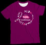 Camiseta Adulto Abrace Roxa MC