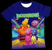 Camiseta  Adulto Backyardigans MC