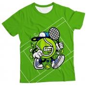Camiseta Adulto Bola de Tênis MC