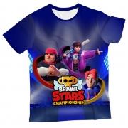 Camiseta Adulto Brawl Stars 1 MC