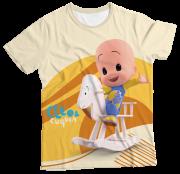 Camiseta Adulto Cleo e Cuquin Amarelo MC