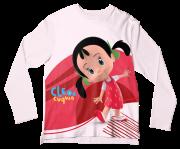 Camiseta Adulto Cleo e Cuquin Colitas ML