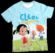 Camiseta Adulto Cleo e Cuquin MC