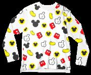 Camiseta Adulto Disney Mickey Branco MC