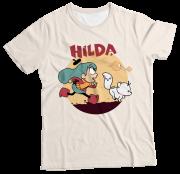 Camiseta Adulto Hilda MC