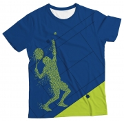 Camiseta Adulto Jogador de Tênis MC