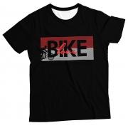 Camiseta Adulto Love Bike Black MC