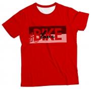 Camiseta Adulto Love Bike Red MC