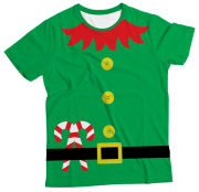 Camiseta Adulto Natal Duende MC