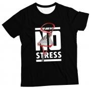 Camiseta Adulto No Stress Black MC