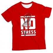 Camiseta Adulto No Stress Red MC