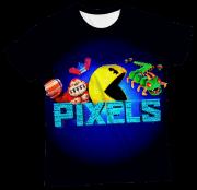 Camiseta Adulto Pac Man Pixels MC