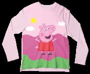 Camiseta Adulto Peppa Pig ML