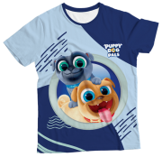 Camiseta Adulto Puppy Dog MC