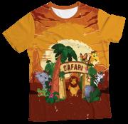 Camiseta Adulto Safari MC